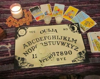 Ouija Board Reading (3) quesitons (This is not a board)