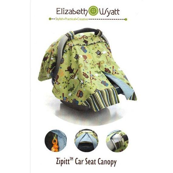 Car Seat Canopy Pattern ZipIt