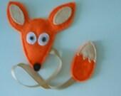 Felt Bookmark - Fox