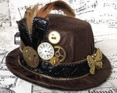 Hat Mignon - Steampunk Art Nouveau - RosiesHouseOfSteam