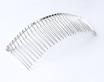 Extra Large Metal Bridal Wedding Cathedral Veil Hair Comb Clip