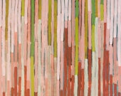 """Acrylic Painting on Panel, """"Lines"""", 2012"""