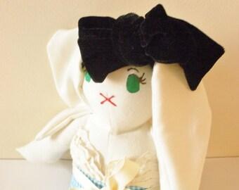 Alice in Wonderland Bunny Doll