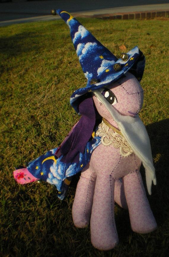 Twilight Sparkle rag doll: Nightmare Night edition