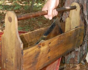 Carpenters Tool Box/ Storage/ Planter
