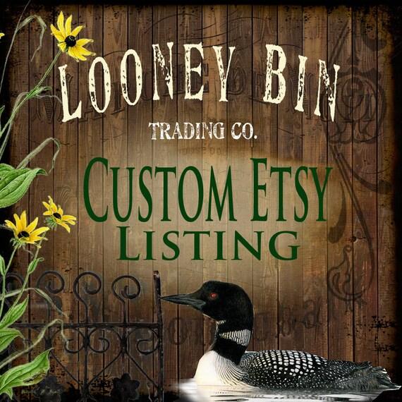 Kari's Personalized Looney Bin Rolling Crates