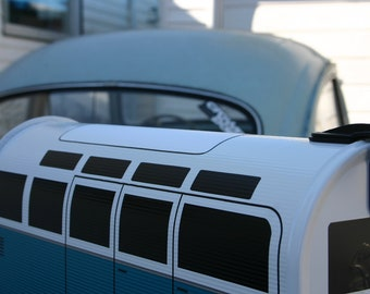 21 Window ADD ON for Volkswagen Bus Mailbox by TheBusBox Custom made - Choose your color - SplitBusBox
