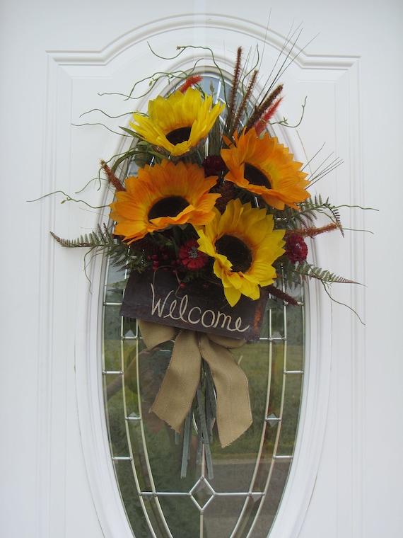 Fall Wreath, Country Wreath,  Autumn Wreath,  Wreath,  Sunflower Wreath,  Summer Wreath,  Wreath