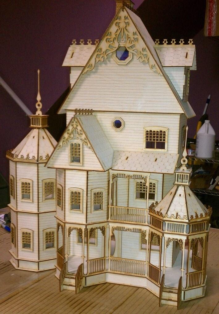 Ashley Gothic Victorian Dollhouse Half Inch Scale Kit