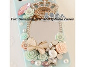 3D Mirror ,Butterfly,Roses,Crown,Gemstones ,Iphone4/4s,Iphone 5,Samsung Galaxy,HTC phone case