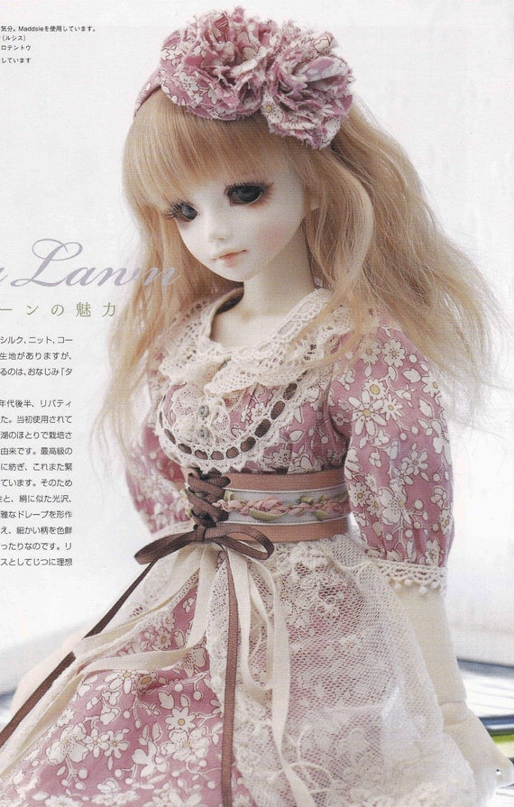 1 4 Msd Bjd Unoa Doll Country Romantic Forest Girl Mori Style