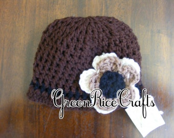 """FALL """"Cornucopia of Cute"""" NB through 5T Shades of Fall Hat for Baby/ Toddler Girl"""