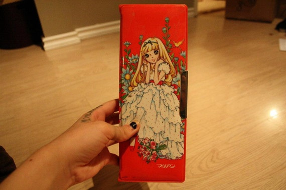 Vintage Rare Japanese Pencil Case - Reserved for misskawaii