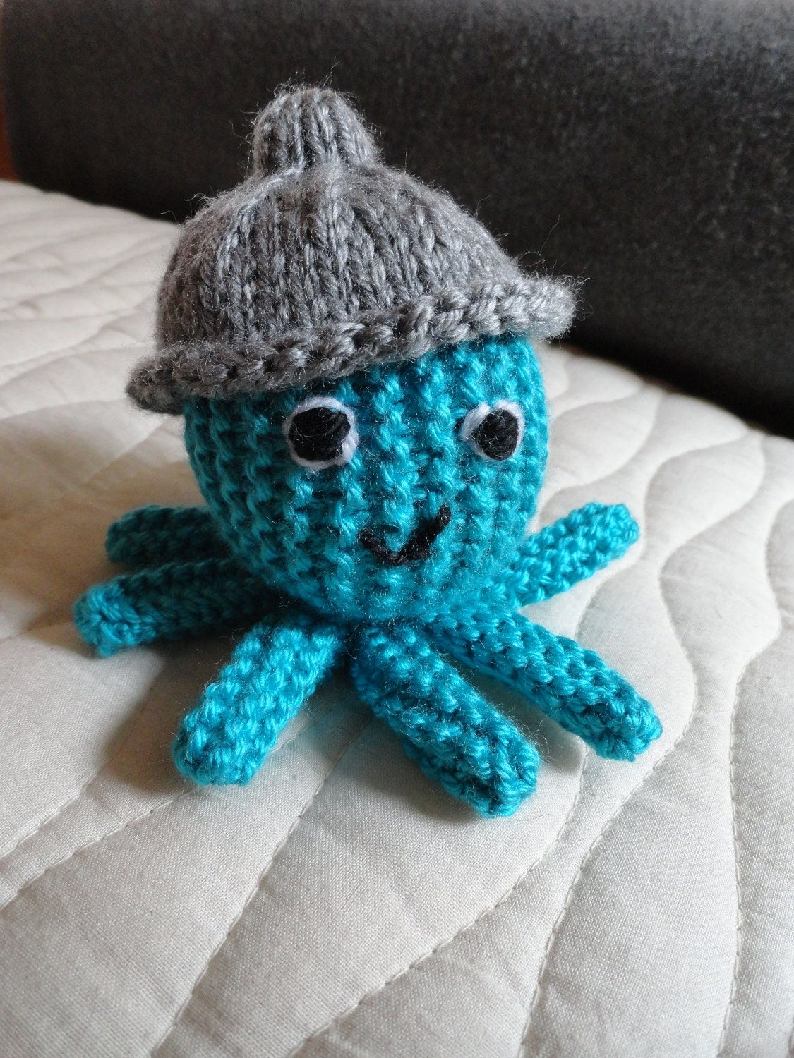 Knitting Pattern Octopus Toy : Octopus Knitted Octopus Octopus Knitted by EightLittleFingers