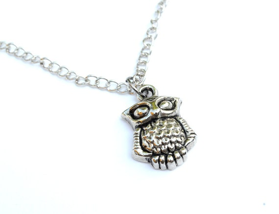 """20"""" Adorable Tiny Owl Simple Necklace"""