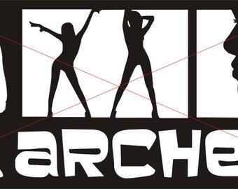 Archer Vinyl Decal / Sticker