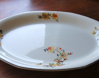 Homer Laughlin Platters - set of two