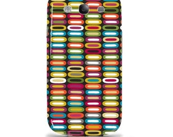 "Samsung Galaxy s3 i9300 case / cover / shell - Artist designed Hardcase ""colorful unique stack"""