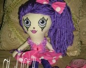 Yaremi, Collectable Cloth Art Rag Clown Doll