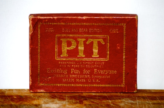 Pit Card Game Vintage Retro Card Game Men's game fathers day
