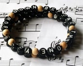 Nine Inch Nails Head Like a Hole Unisex Bracelet - A Great Gift For A Trent Reznor or 50 Shades of Grey Fan