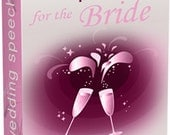 Wedding Speeches for the Bride and Groom ebooks. - 2 Digital ebook PDFs