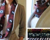 Original African Batiks scarves - necklaces / cowls ...two in one