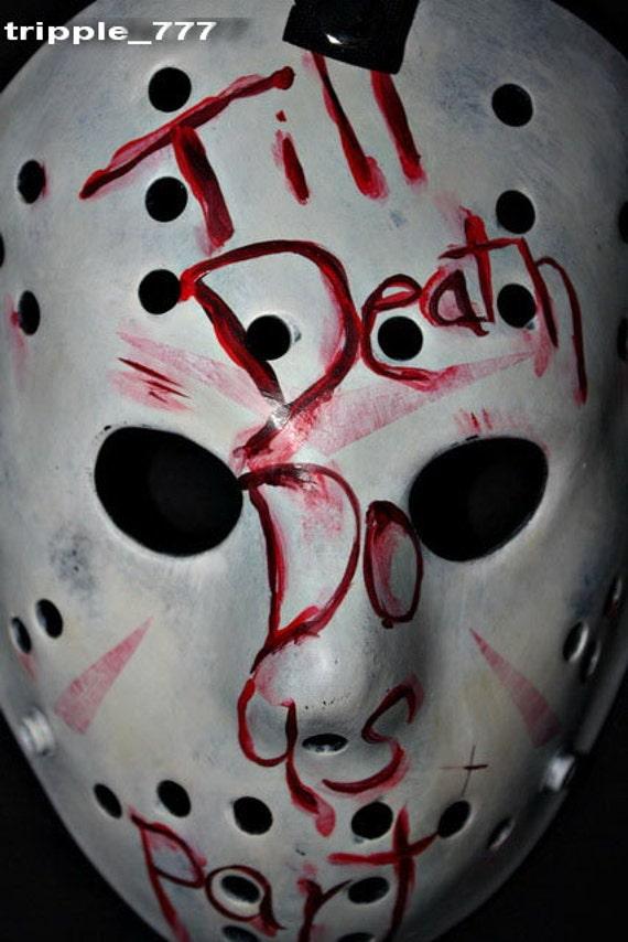 Jason mask, Halloween mask, Halloween costume & Cosplay mask, Halloween decor, Halloween decoration horror mask, Hockey mask movie Prop HO13