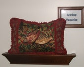 Red Pheasant pillows