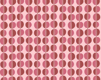 Riley Blake Fabric by the yard - Fiona - Dots C2675 Pink SALE