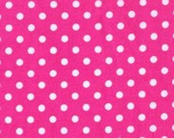 SALE! 1/4m Dumb Dot Fuchsia - Michael Miller