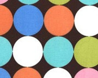 SALE! 1/4m Disco Dot Chocolate - Michael Miller