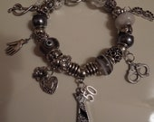 The GREYsessed Pandora Style Bracelet