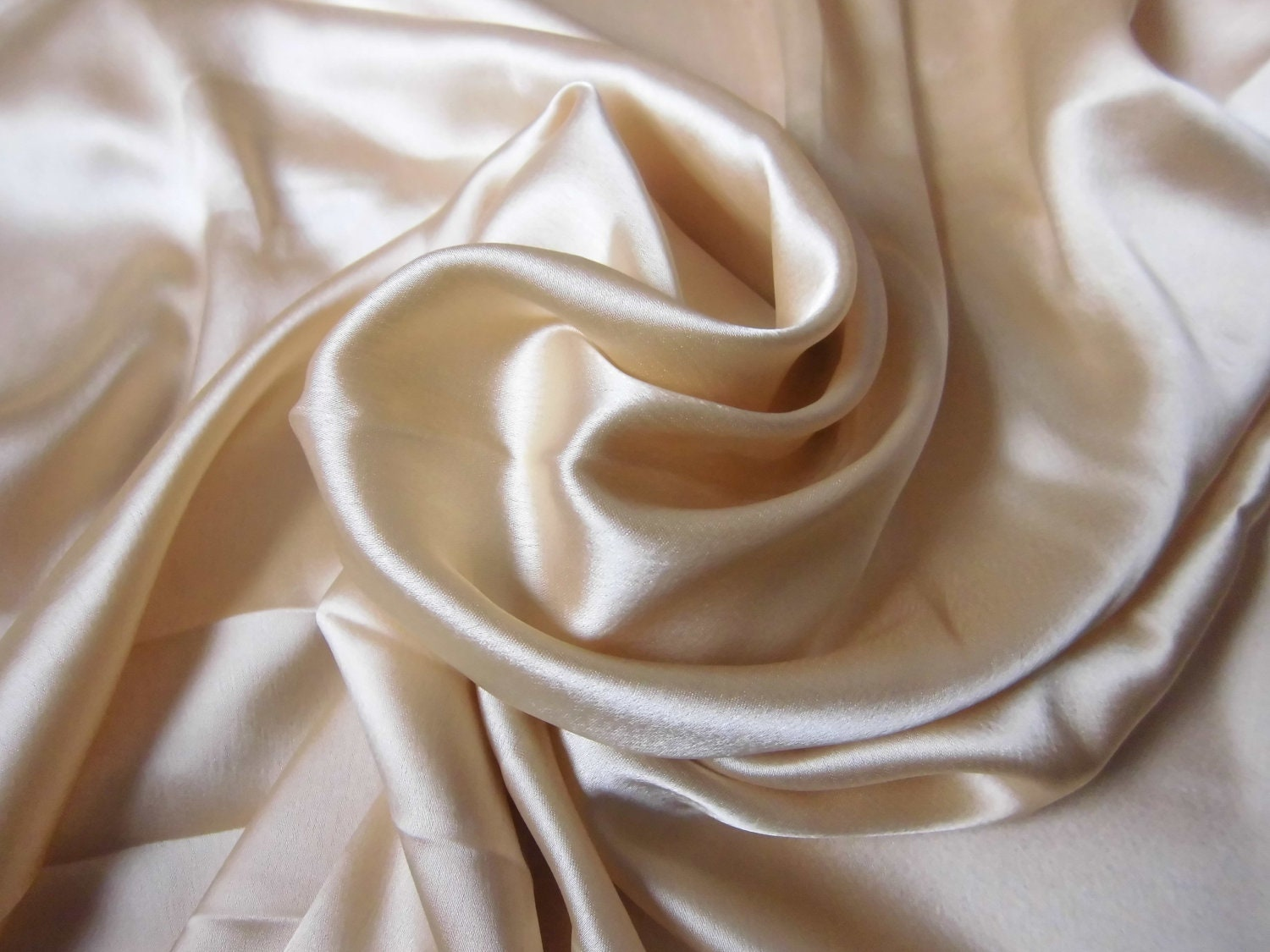 Indian fabric pale gold satin fabric india fat by for Satin fabric