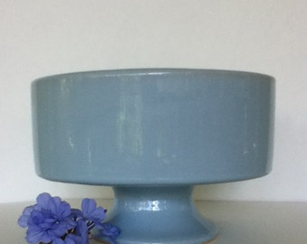 Cottage Chic Blue Compote