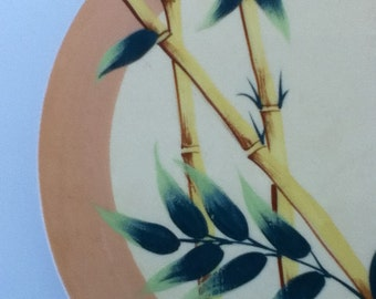 Vintage Weil Ware Malay Bambu Large Plate