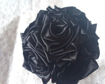 Black Rose Bouquet (Small)
