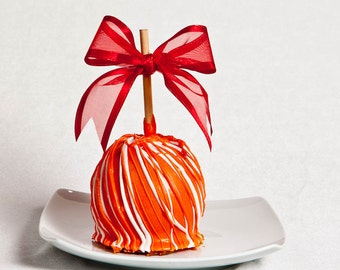 Orange Dream Caramel Apple