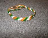 Irish Flag Friendship Bracelet