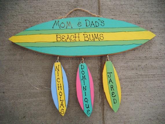 Letrero de madera tablas de surf personalizadas - Fotos de tabla de surf ...