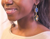 Afri-opulence dangle earring