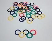 Olympic Ring Confetti