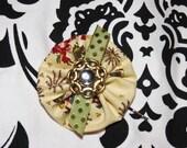 Vintage Floral Bobby Pin, Hair pin
