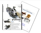 Beaded Greyhound Repose Pattern - Combo Pack With Video Tutorials