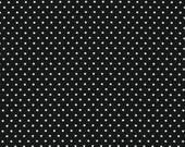 Fabric by the Yard Black Dots,Robert Kaufman,Pimatex BT 3482 13 Black,1 yard