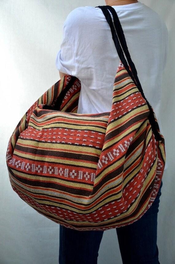 Hmong Hippie Gypsy Boho Hobo Backpack Messenger Bag M205 (RESERVED)