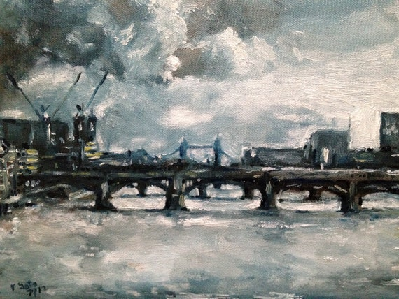 Clouds over the Thames