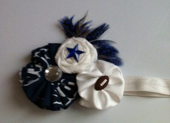 Vintage Style Dallas Cowboys Headband