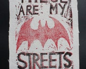These are MY Streets Patch- Batwoman