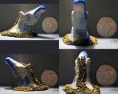 Marbled Horse Head Sculpture